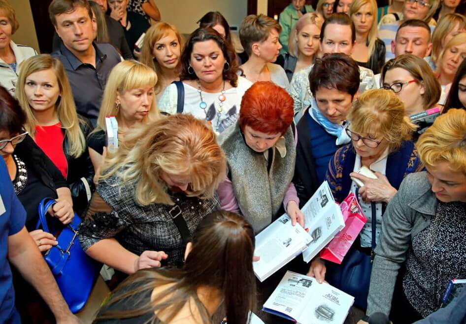Виктория Райдос проводит семинар в Новосибирске
